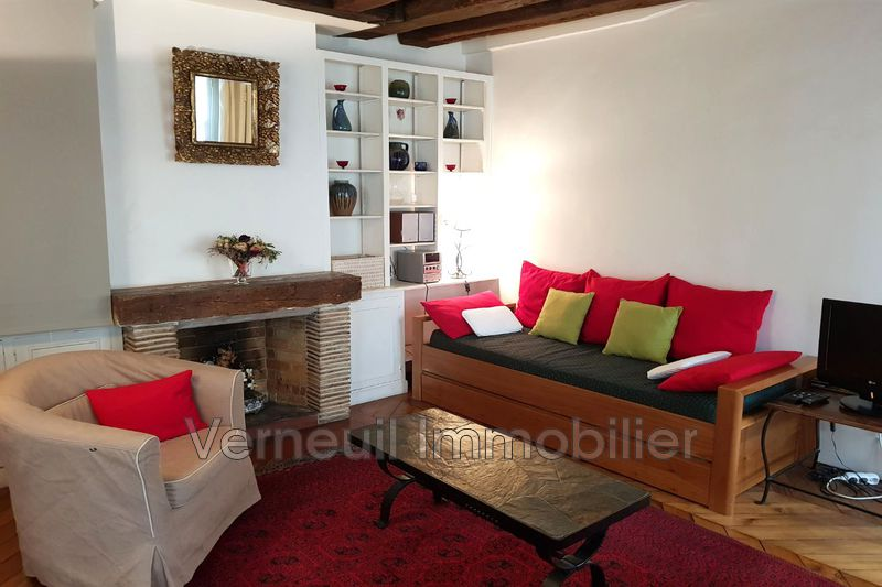 Appartement Paris Rue du bac,  Location appartement  2 pièces   48m²
