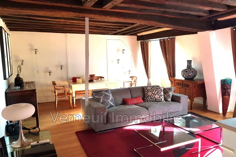 Appartement Paris Rue du bac,  Location appartement  2 pièces   65m²