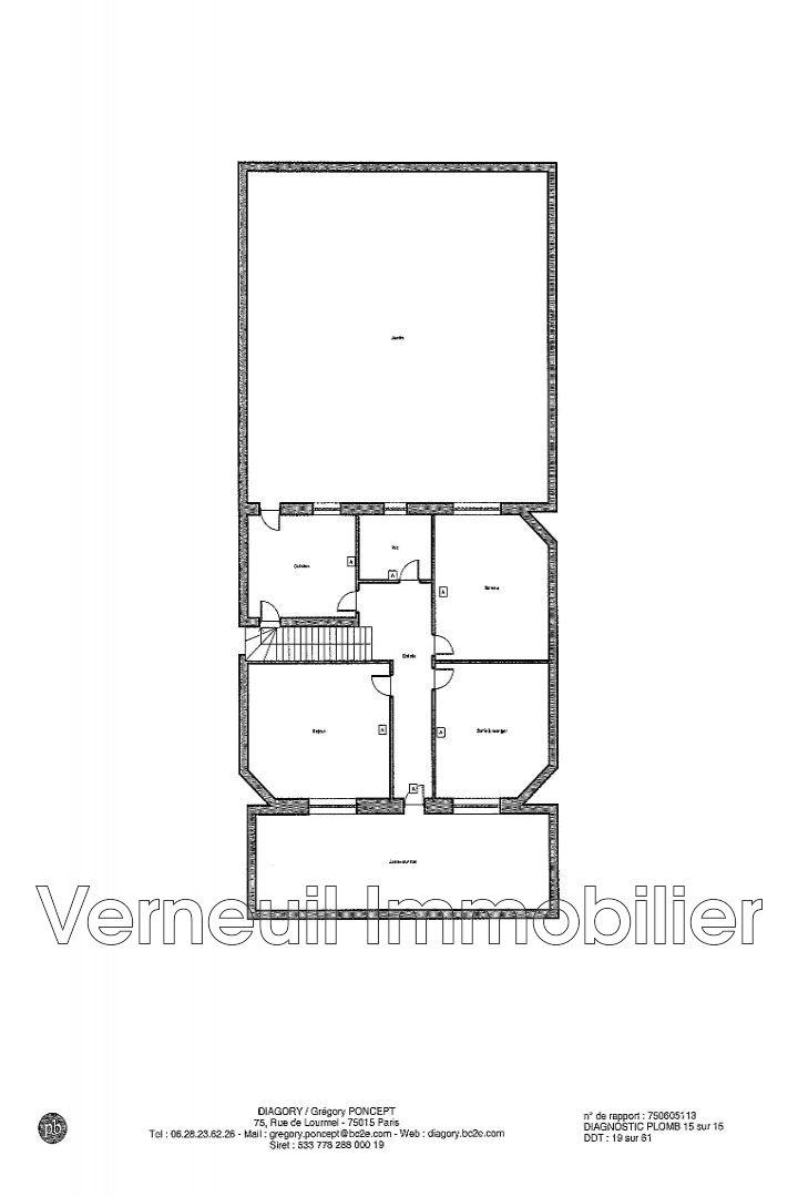 Maison le v sinet centre ville achat maison 3 chambres 95 m for Achat maison 95
