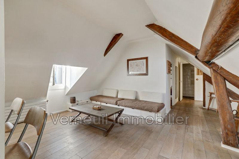 Dernier étage Paris Verneuil bac,   achat dernier étage  3 pièces   58m²