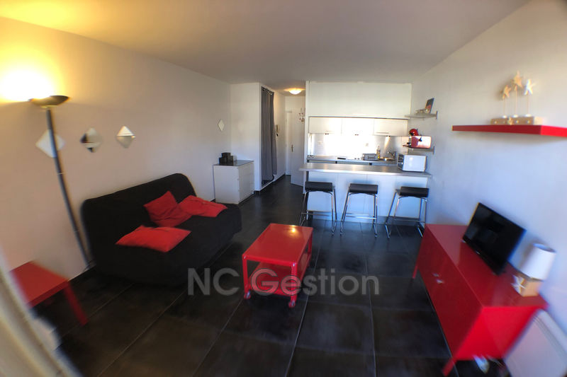 Photo n°1 - Location appartement Golfe-Juan 06220 - 640 €