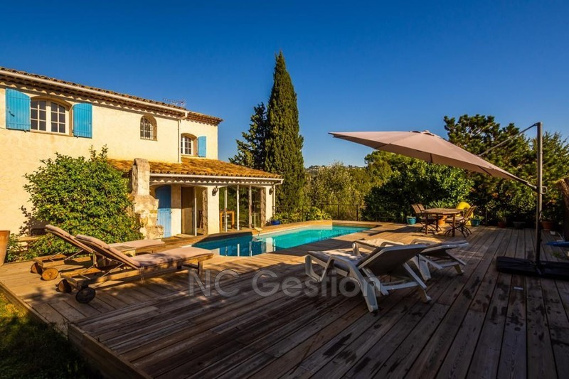 Photo n°1 - Location Maison bastide Mougins 06250 - 2 800 €