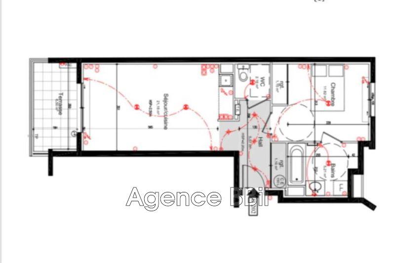 Appartement Cannes   achat appartement  2 pièces   48m²