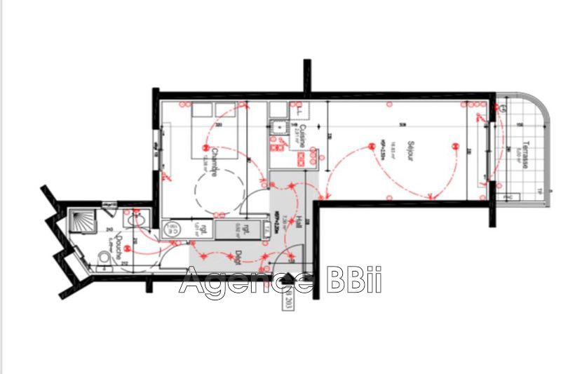 Appartement Cannes   achat appartement  2 pièces   47m²