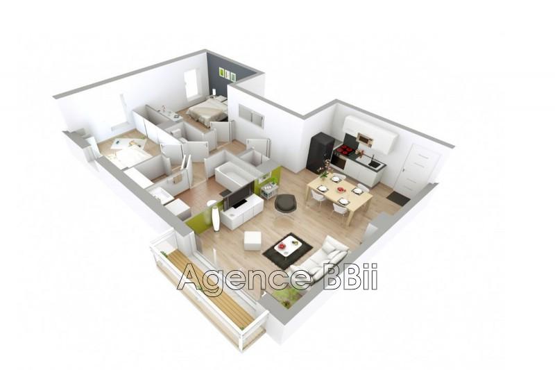 Appartement Persan   achat appartement  3 pièces   63m²