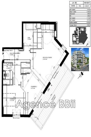 Photo n°8 - Vente appartement Nice 06100 - 351 000 €