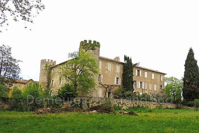 Photo Castle Séguret Dentelles de montmirail,   to buy castle  40 room   1000m²
