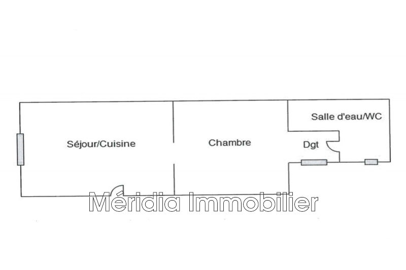 Photo n°4 - Vente appartement Perpignan 66000 - 38 000 €