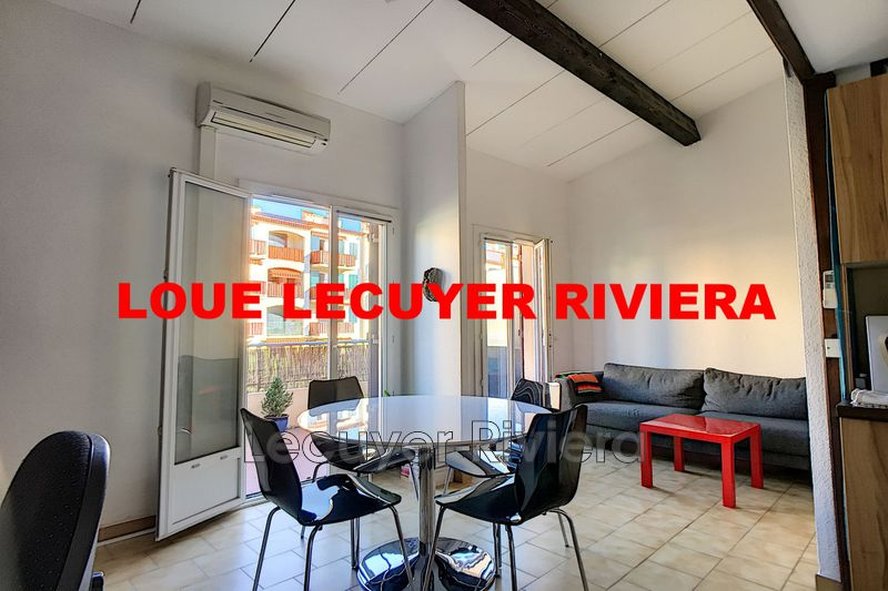 Photo Appartement Vallauris Vallauris,  Location appartement  1 pièce   25 m²