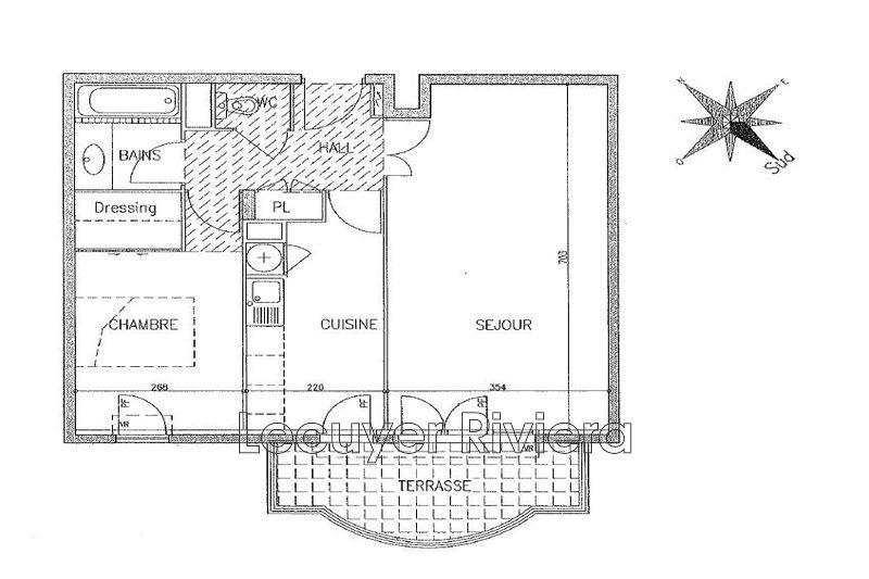 Photo n°10 - Vente appartement Golfe-Juan 06220 - 261 000 €
