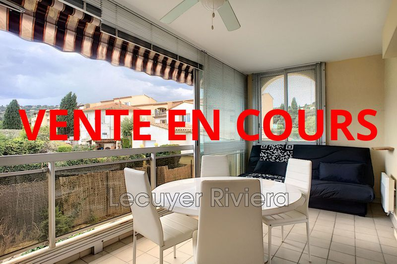 Photo Appartement Golfe-Juan Collines,   achat appartement  2 pièces   26 m²