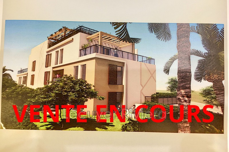 appartement  3 pièces  Golfe-Juan Centre-ville  67m² -