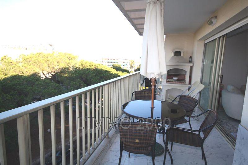 appartement  3 pièces  Juan-les-Pins Pinede  77m² -