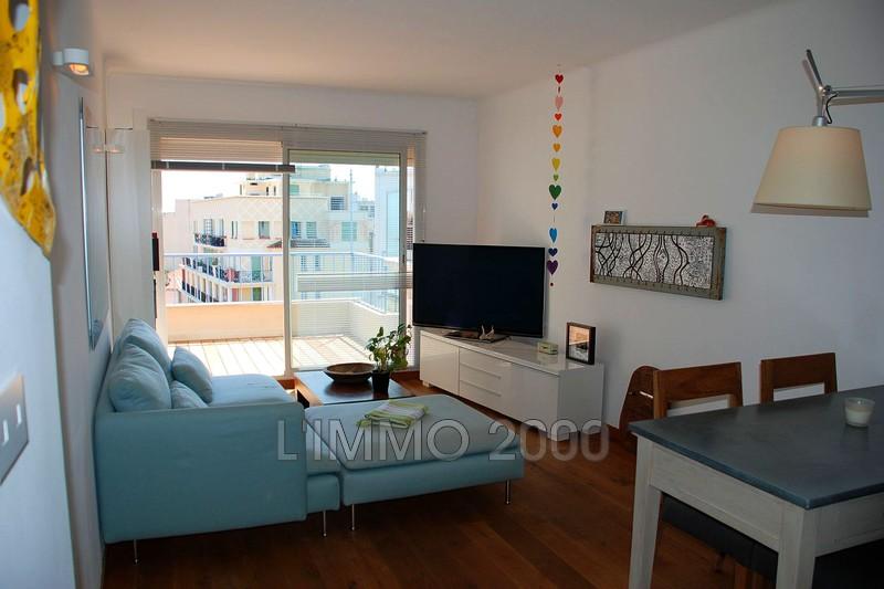 appartement  3 pièces  Juan-les-Pins Centre ville  57m² -