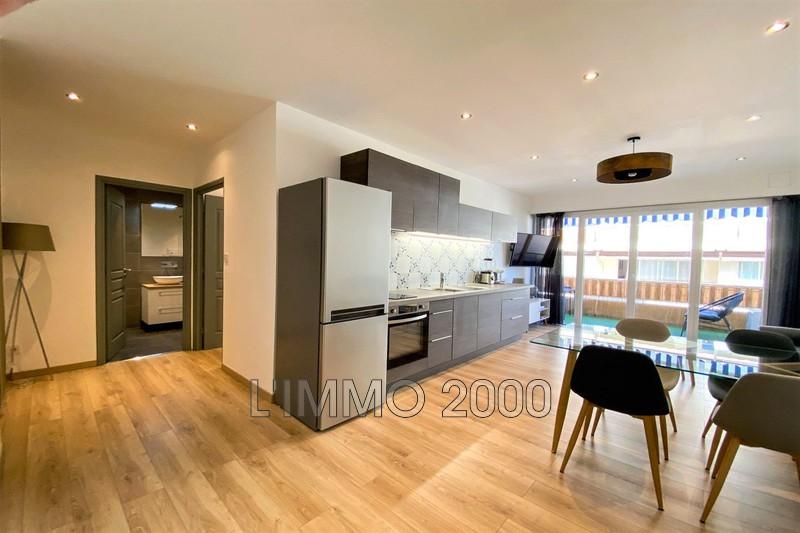 appartement  2 pièces  Juan-les-Pins Centre ville  44m² -