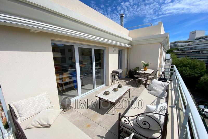 appartement  3 pièces  Juan-les-Pins Rostagne  72m² -