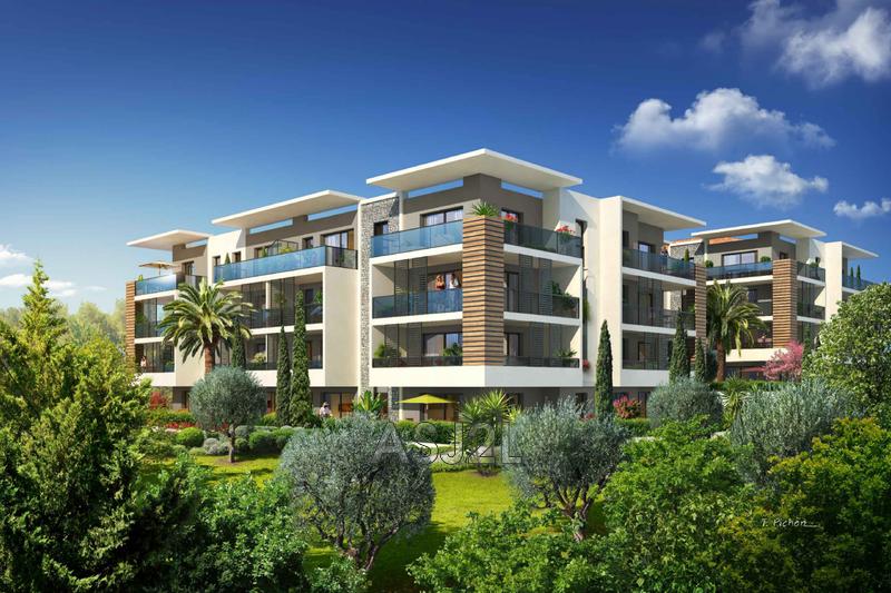 Photo Appartement Cannes-la-Bocca Le grand saule,  Neuf appartement  2 pièces   34m²
