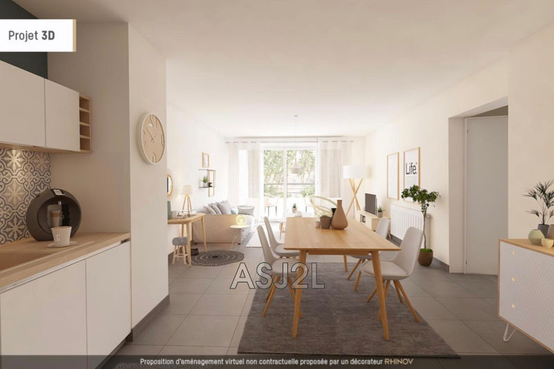 Photo Appartement Marseille Villecroze,  Neuf appartement  4 pièces   87 m²