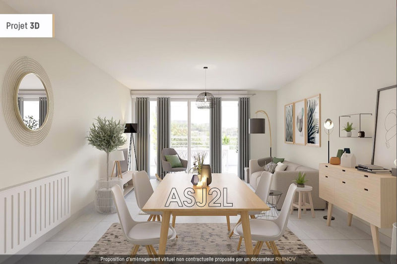 Photo Appartement Marseille Valcroze,  Neuf appartement  3 pièces   59m²