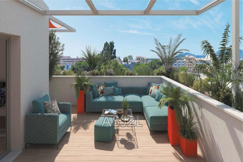 Photo Apartment Cannes-la-Bocca Le plan,  New apartment  4 rooms   78m²