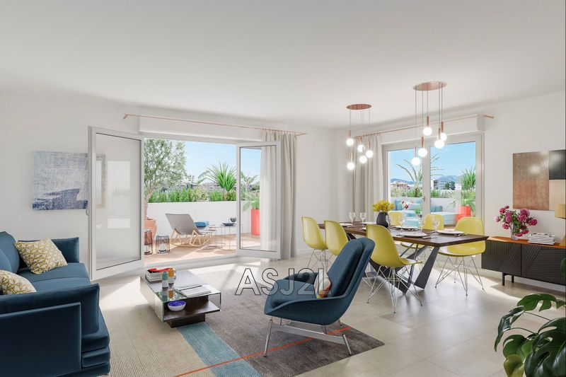 Photo Apartment Cannes Proche plages,  New apartment  4 rooms   75 m²