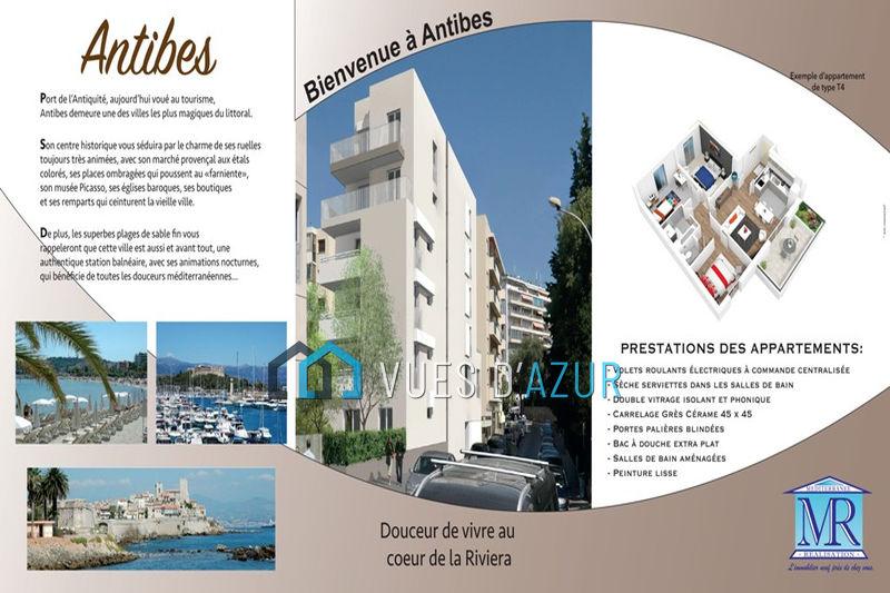 Photo Appartement Juan-les-Pins Centre-ville,  Neuf appartement  4 pièces   112m²