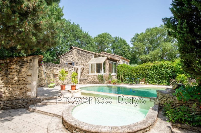 Photo n°2 - Vente maison en pierre Gordes 84220 - 443 000 €