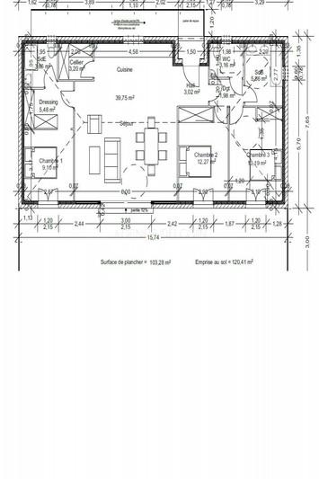 Maison Figanières Campagne,   achat maison  3 chambres   103m²