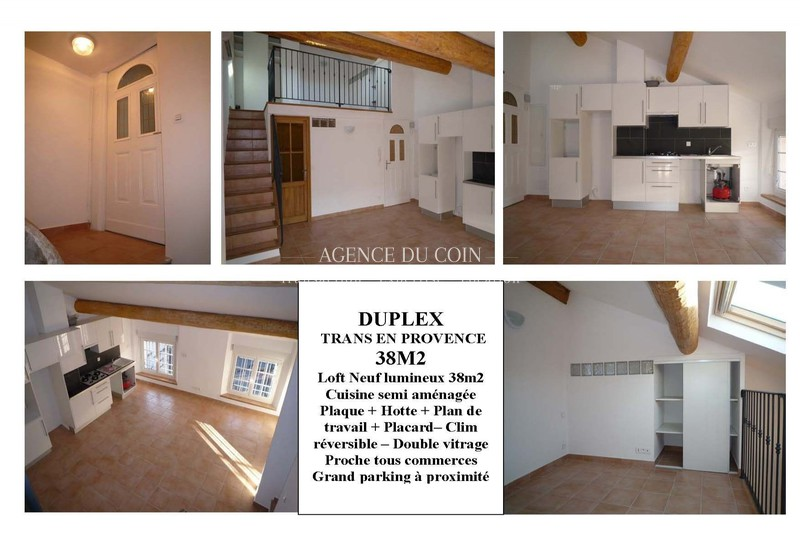 Apartment Trans-en-Provence   to buy apartment  2 rooms   38 m²
