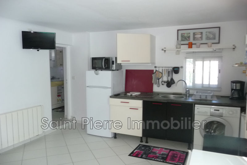 Photo Appartement Cagnes-sur-Mer La pinede,  Location appartement  1 pièce   18 m²