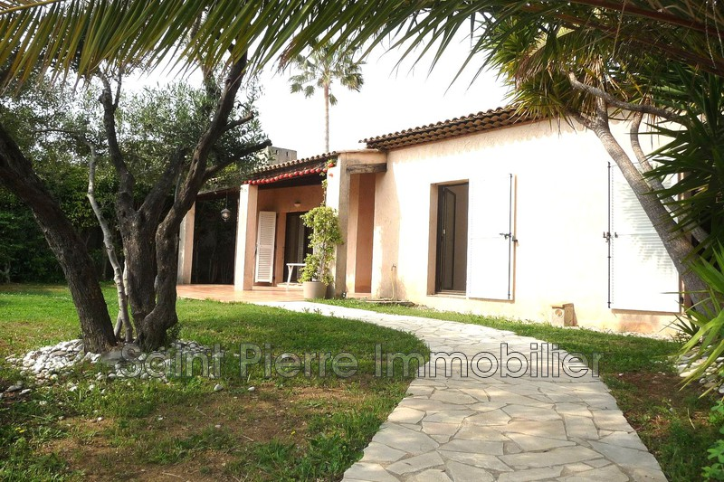 Photo Villa Villeneuve-Loubet Hauts de vaugrenier,  Rentals villa  3 bedroom   90 m²