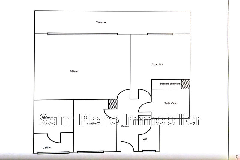 Photo Apartment Cagnes-sur-Mer Centreville,   to buy apartment  2 rooms   47m²
