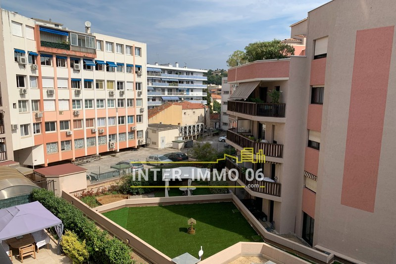 Photo Apartment Cagnes-sur-Mer Downtown,   to buy apartment  2 rooms   45m²