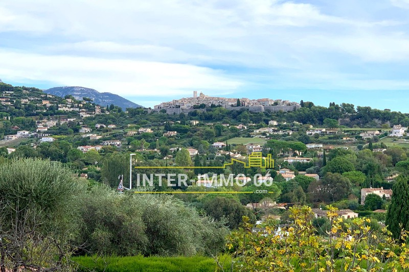 Photo Terrain constructible La Colle-sur-Loup Close to the village,   to buy terrain constructible   775 m²