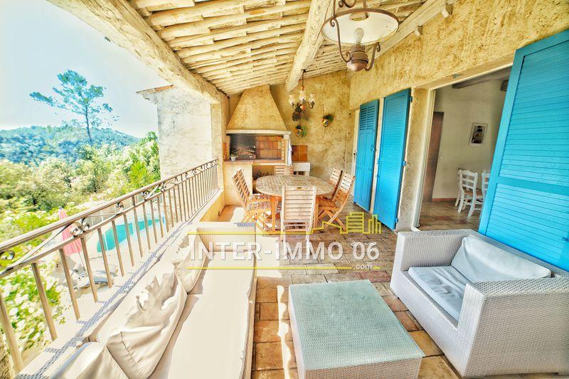Photo Villa provençale La Colle-sur-Loup Proche village,   achat villa provençale  6 chambres   240m²
