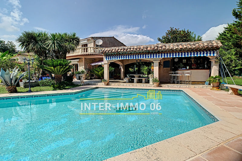 Photo Villa Saint-Paul-de-Vence Bas de st paul,   to buy villa  5 bedroom   154 m²