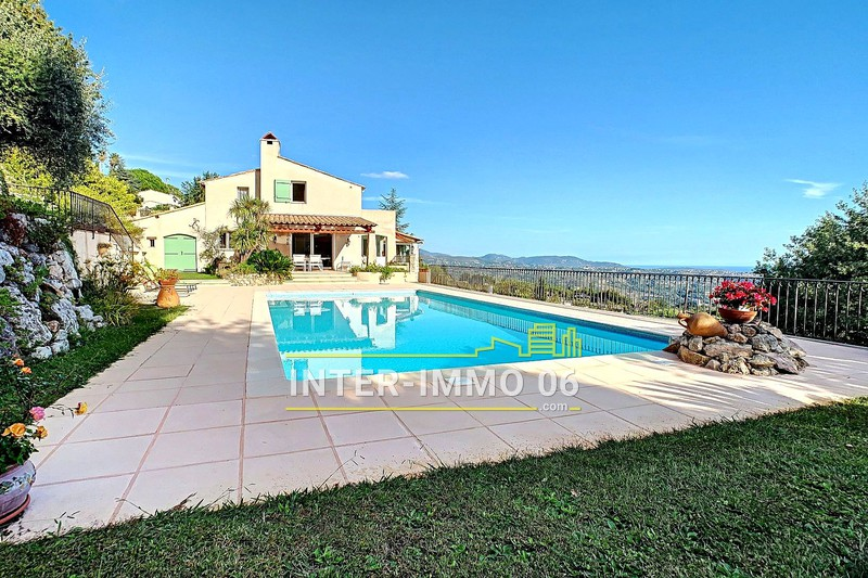 Photo Villa Saint-Jeannet Close to the village,   to buy villa  4 bedroom   215 m²