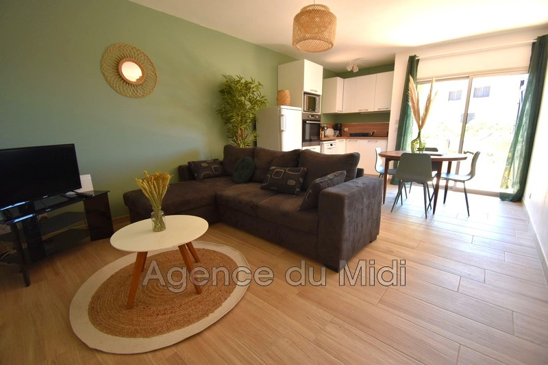 Photo Apartment Leucate Leucate plage,  Vacation rental apartment  2 rooms   40m²