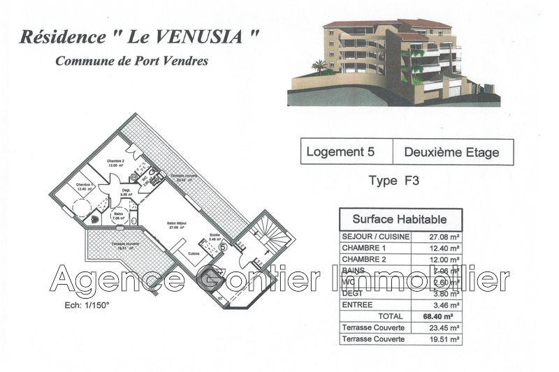 Photo n°3 - Vente appartement Port-Vendres 66660 - 240 000 €