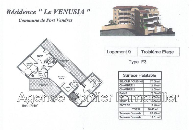 Photo n°3 - Vente appartement Port-Vendres 66660 - 260 000 €