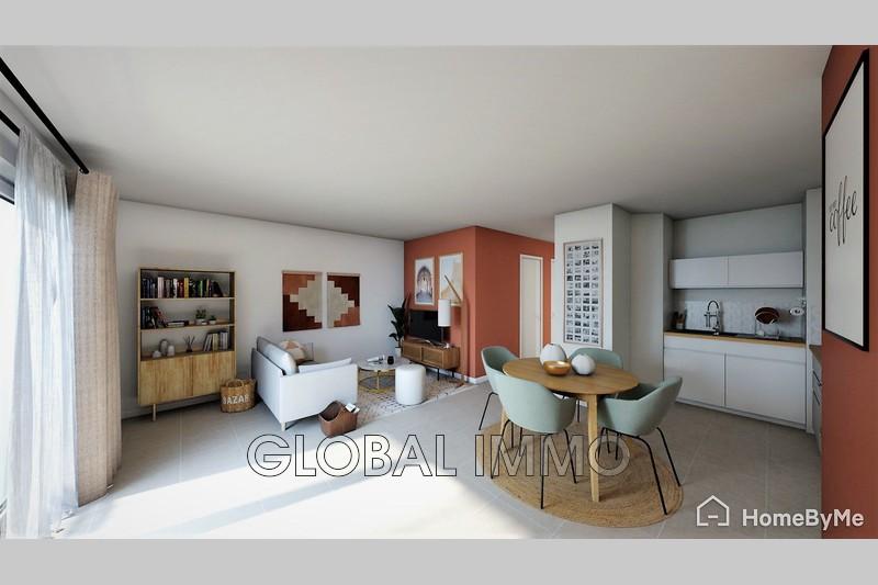 Photo Appartement Nîmes Albin michel,   achat appartement  3 pièces   67m²