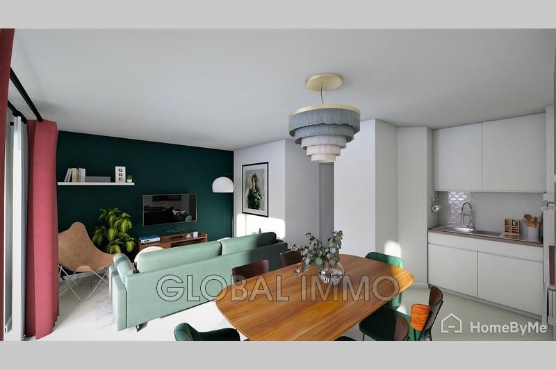 Photo Appartement Nîmes Albin michel,   achat appartement  4 pièces   82m²