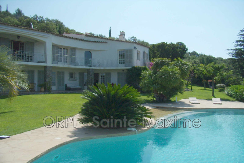 Photo Villa Grimaud  Vacation rental villa  6 bedroom   260 m²