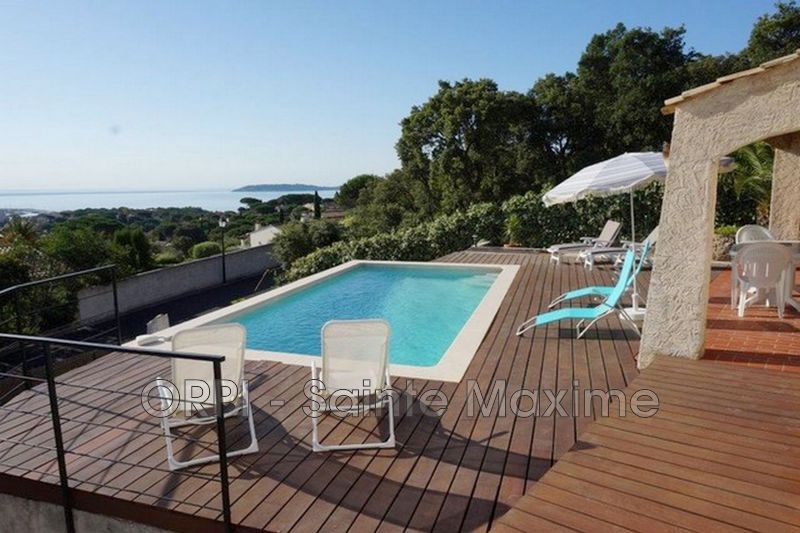 Photo Villa Sainte-Maxime Centre-ville,  Vacation rental villa  3 bedroom   90 m²