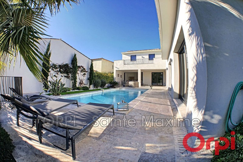 Photo Villa Sainte-Maxime Quartier les moulins,  Vacation rental villa  3 bedroom   180 m²