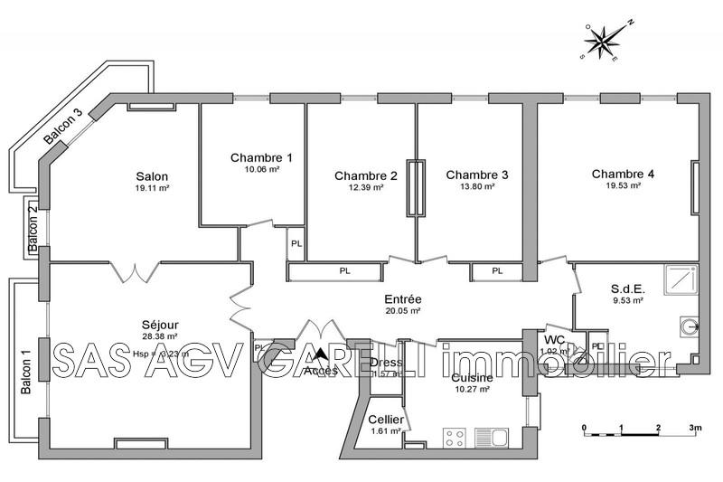 Photo n°19 - Location appartement Toulon 83000 - 1 325 €