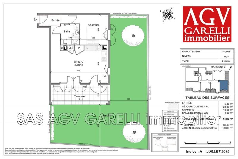 Photo n°2 - Vente appartement Cogolin 83310 - 252 000 €