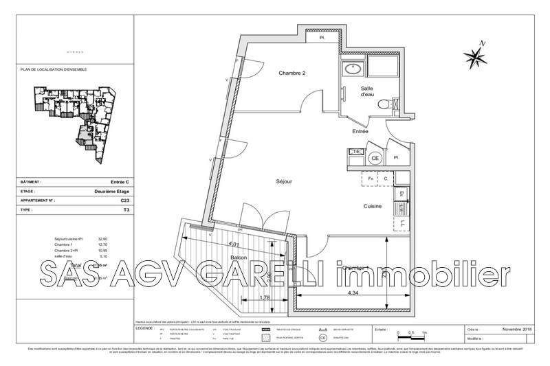 Photo Apartment Hyères   to buy apartment  3 room   61m²