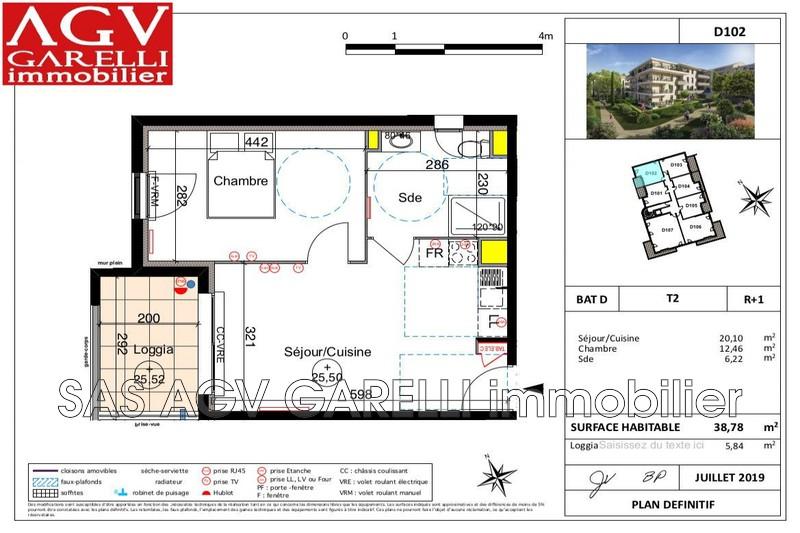 Photo n°1 - Vente appartement Six-Fours-les-Plages 83140 - 196 000 €