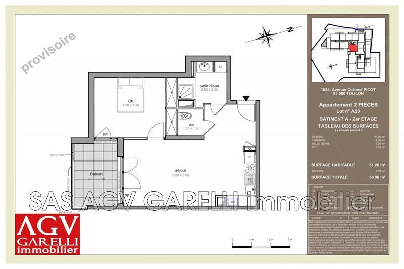 Photo n°1 - Vente appartement Toulon 83100 - 208 802 €